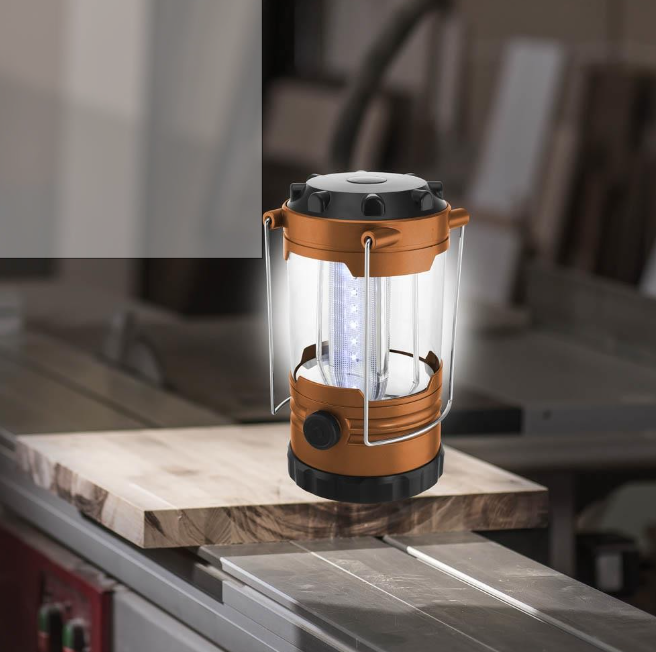 RLTGear™ Copper Blaze Outdoor Camping Bright LED Lantern Flashlight