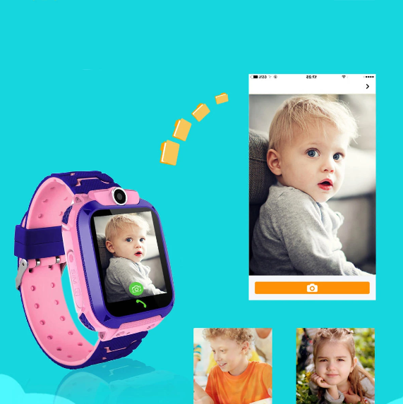 Kids Smart Watch Children Gizmo Tracker GPS Remote Monitor Anti-Lost Safe