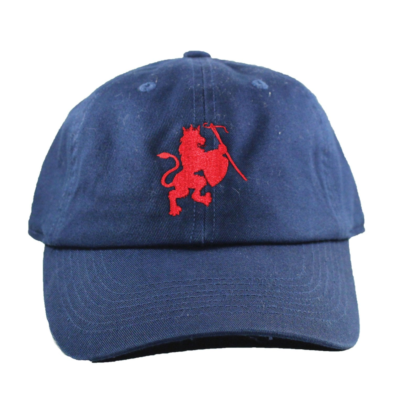 Lion Crest navy dad hat