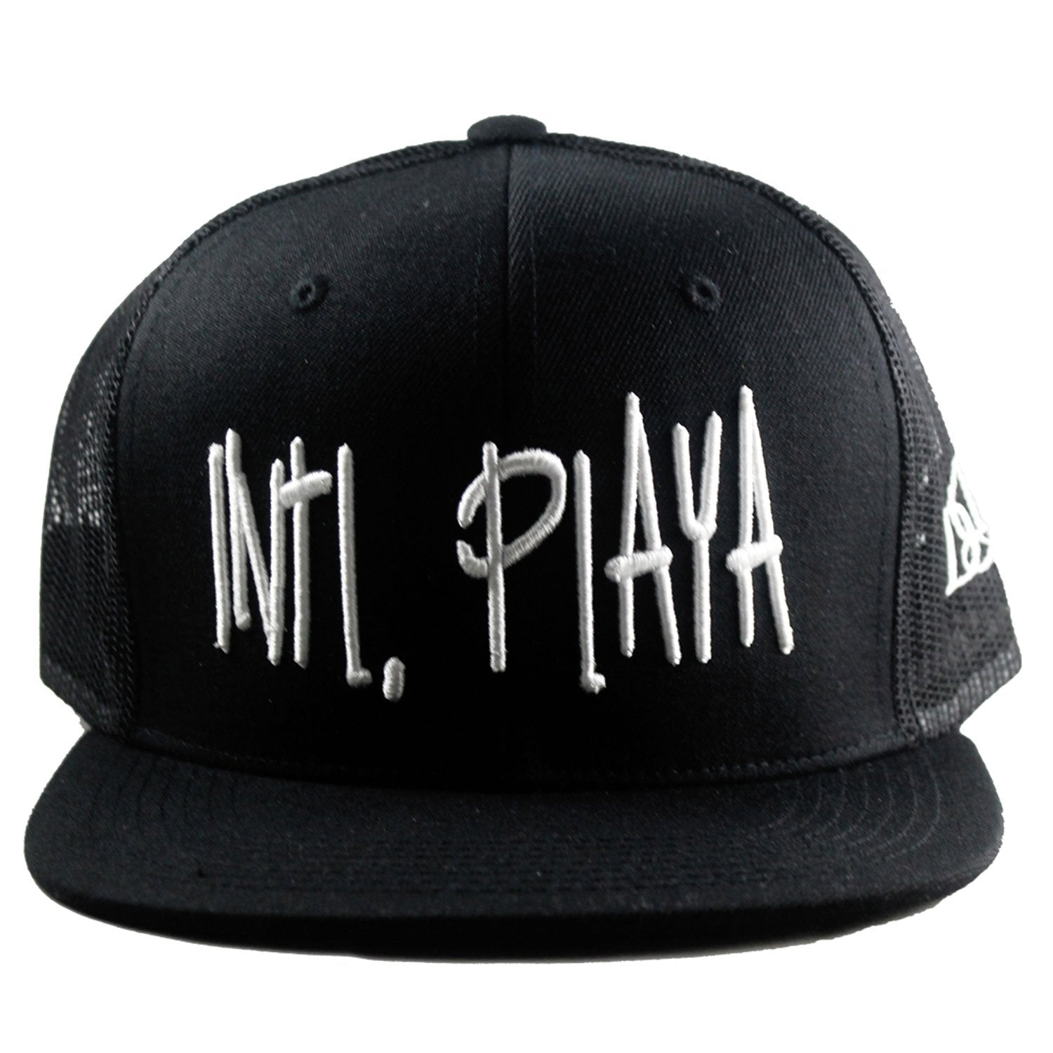 Black intl. playa hat