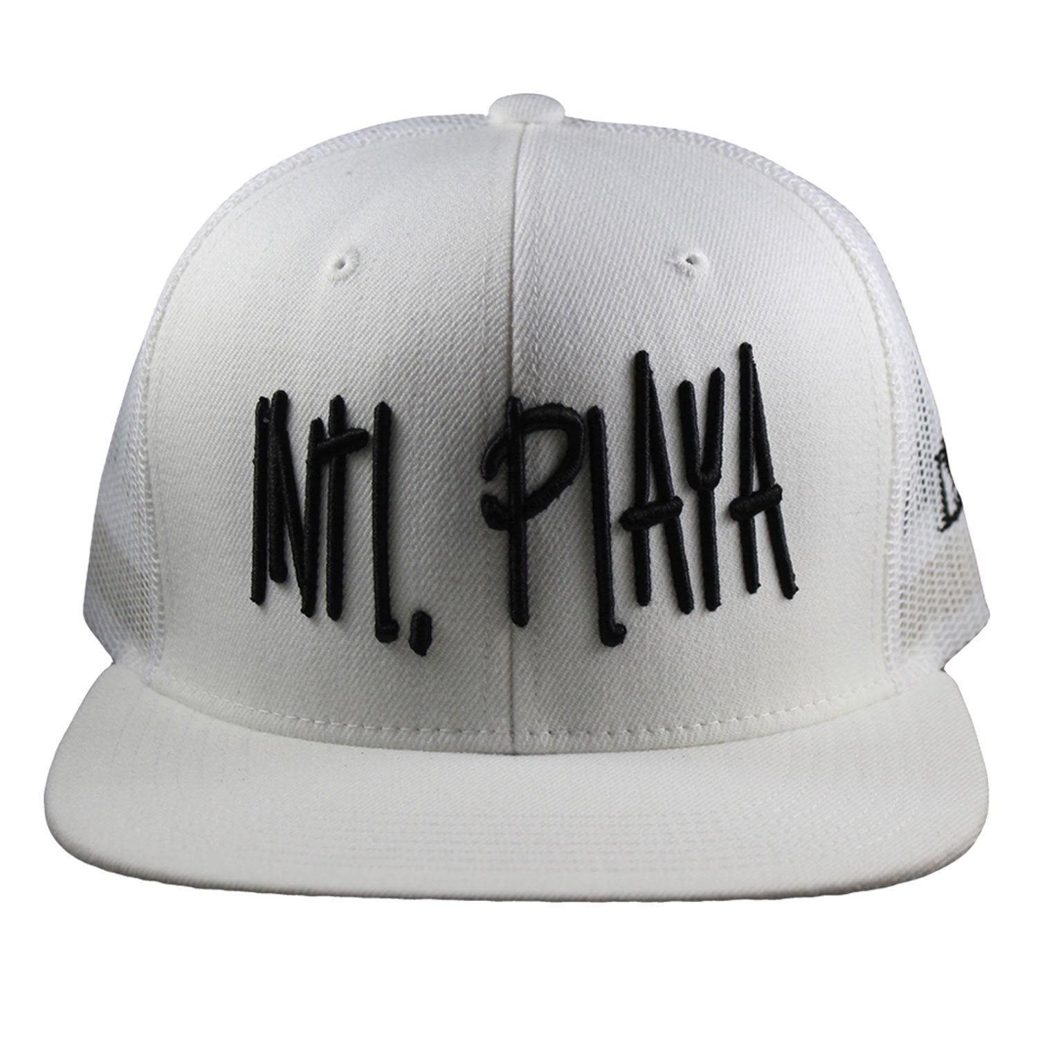 White intl. playa hat
