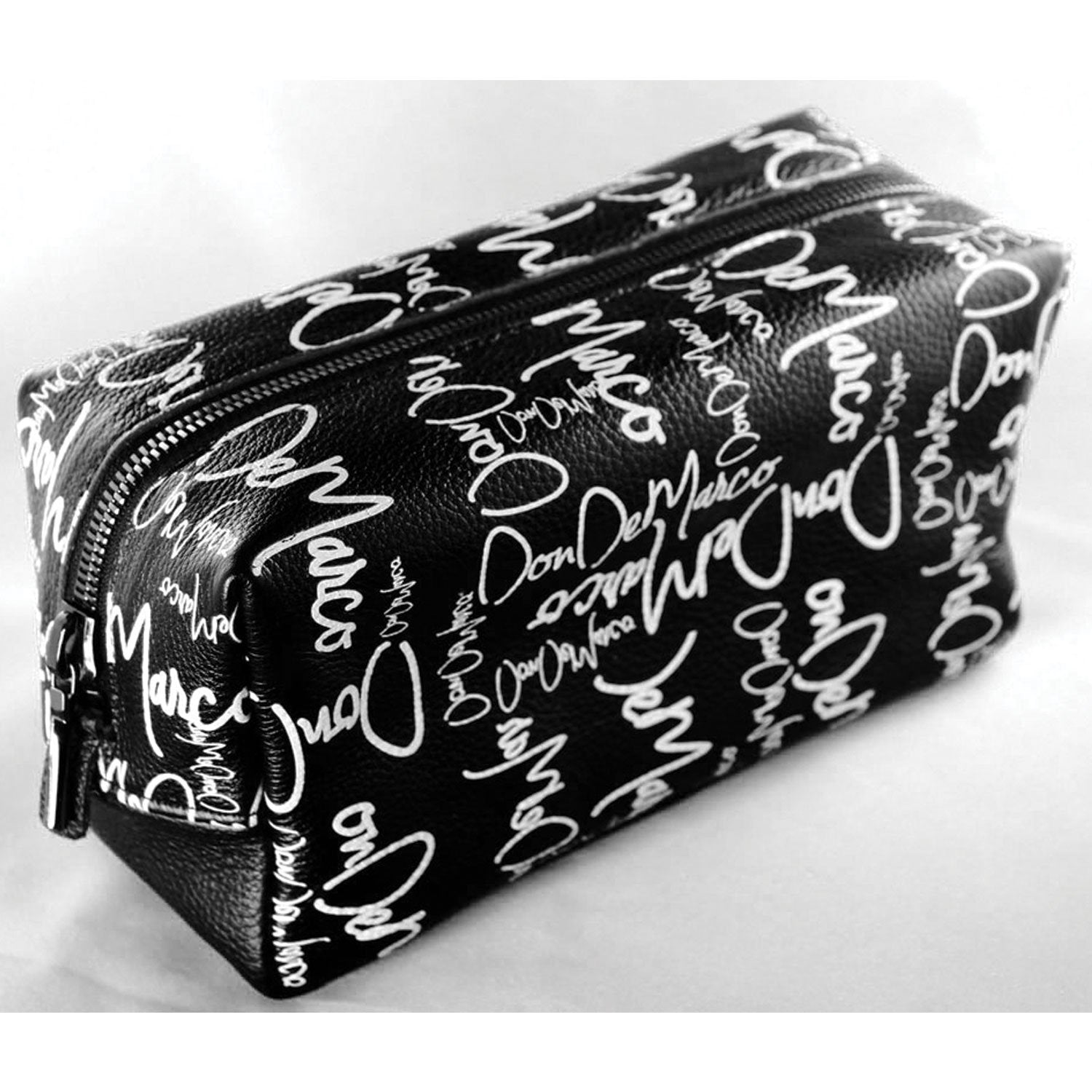 DonDeMarco monogram toiletry bag