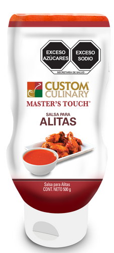 Alitas Original Apachurrable - Custom Culinary México
