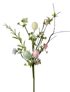 "22"" Easter egg/Floral Spray"