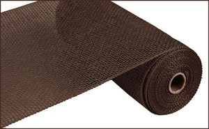 "10""X10yd Poly Burlap Mesh - Chocolate"