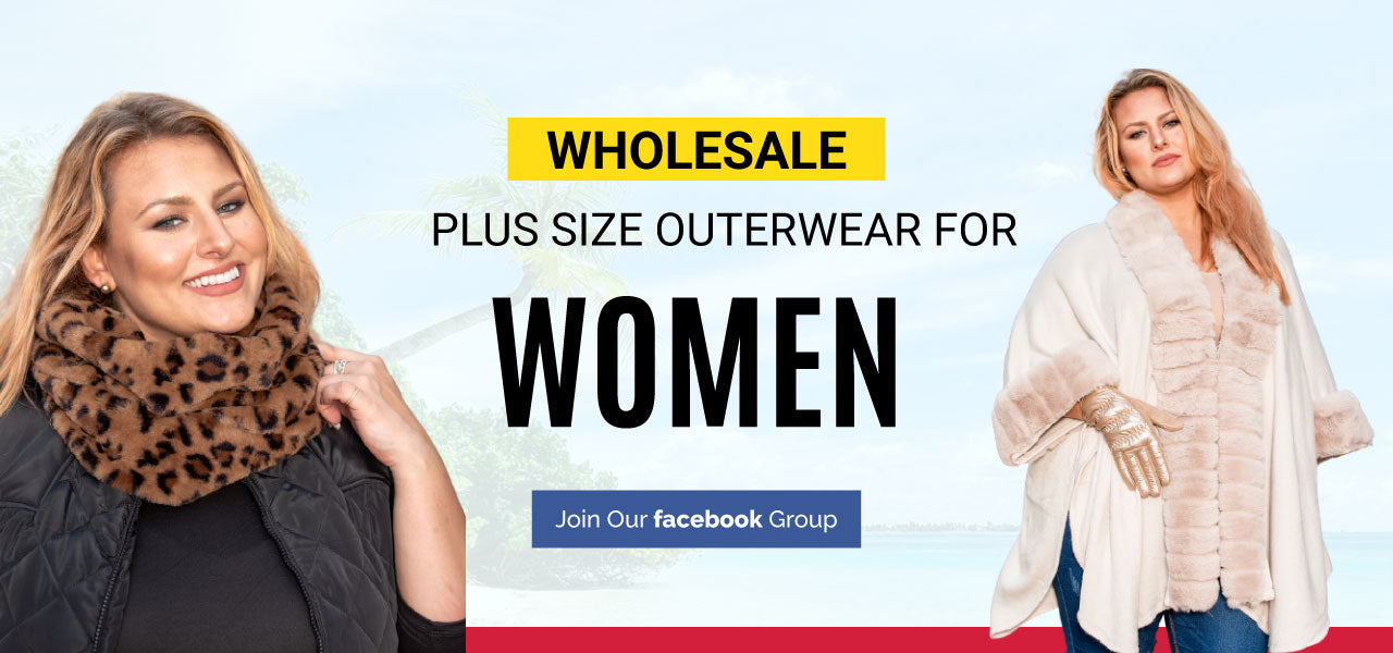 VLU STYLE Wholesale Plus SizeOuterwear for Women That Catches Attention