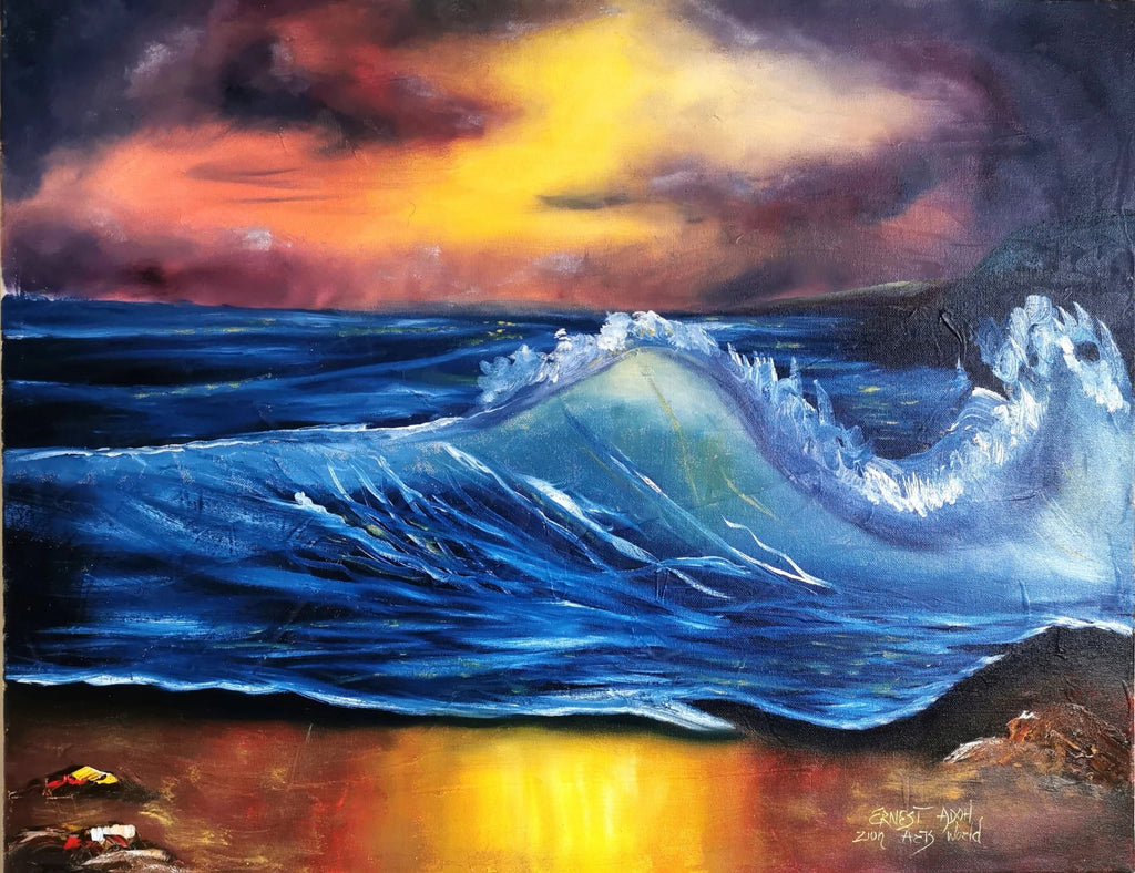 Seascape Oil Paintings On Canvas for Bedroom and Living Room for Sale