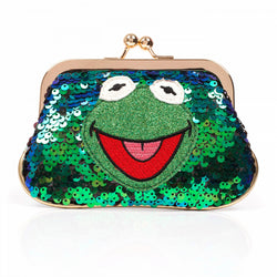 MUPPETS LOVE IS GREEN PURSE