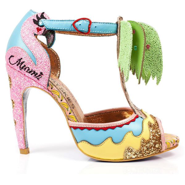 IRREGULAR CHOICE Miami Heels