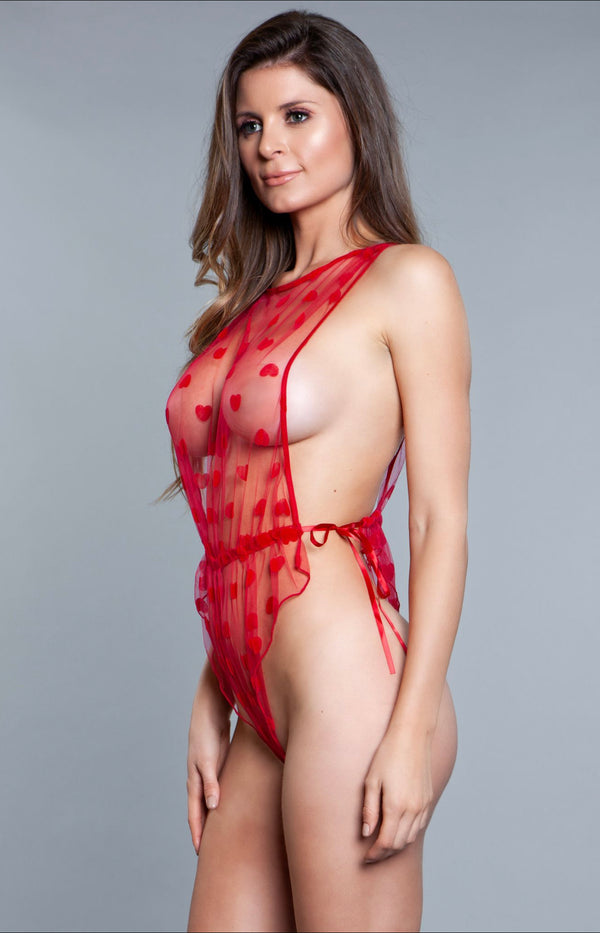 Natalie Teddy Red