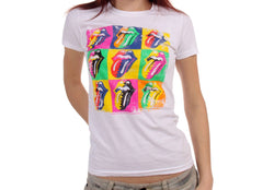 Rolling Stones Warhol Tongue Girlie T-Shirt