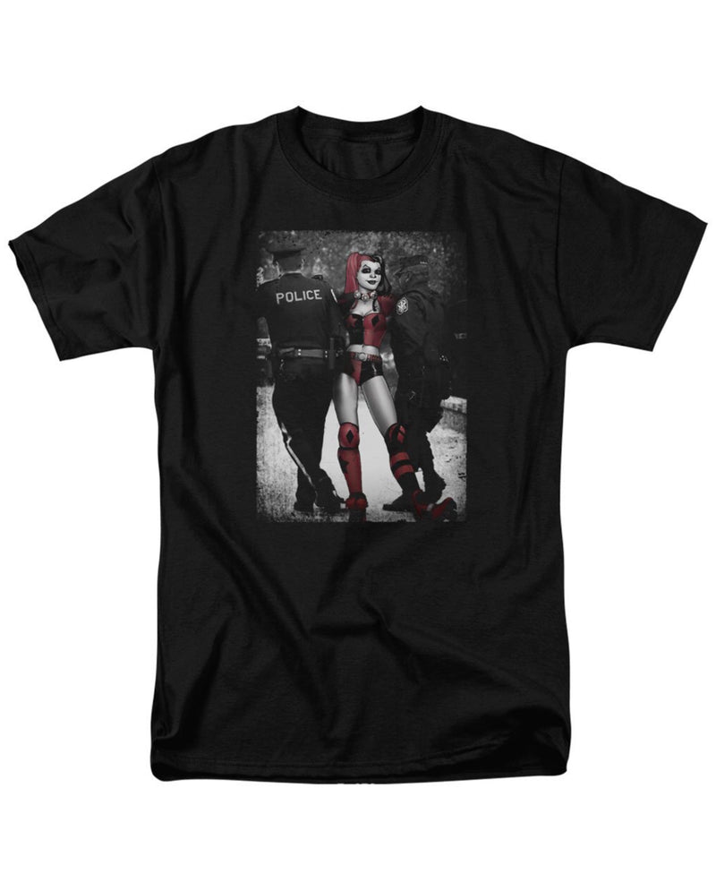 Harley Quinn Arrested Men's Fit T-Shirt