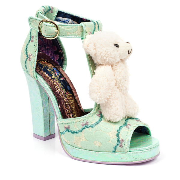 IRREGULAR CHOICE Buddy Bear Heels