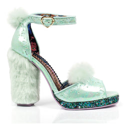 IRREGULAR CHOICE TEDDY TOES HEELS