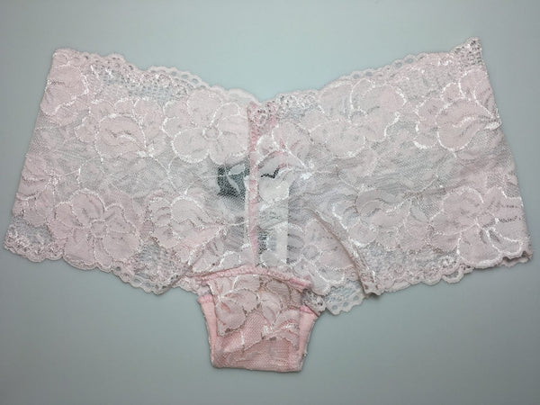 Lace All Over Pink Panties