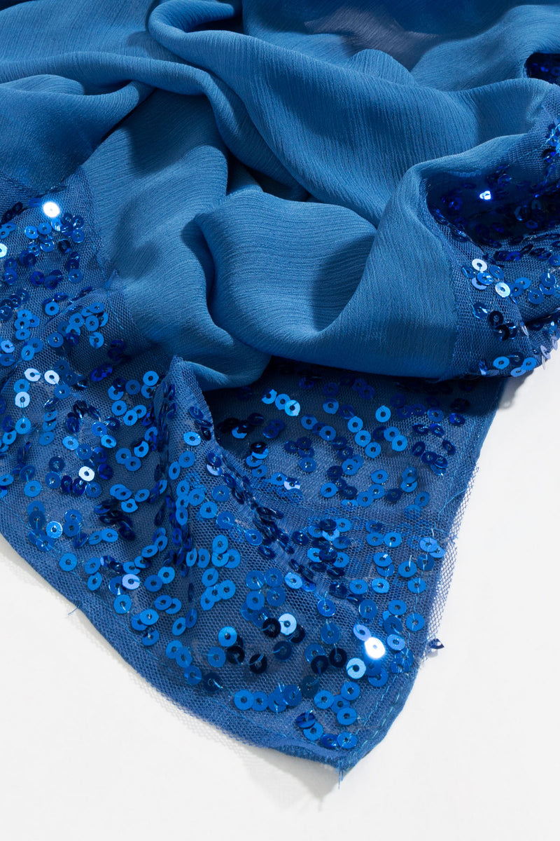 Pia Rossini Isabelle Azure Scarf