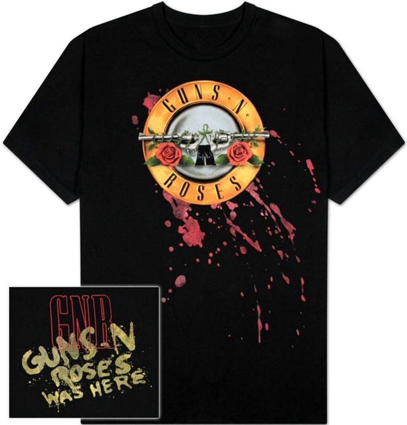 Guns N Roses Bloody Bullet 30/1 Men's Fit T-Shirt