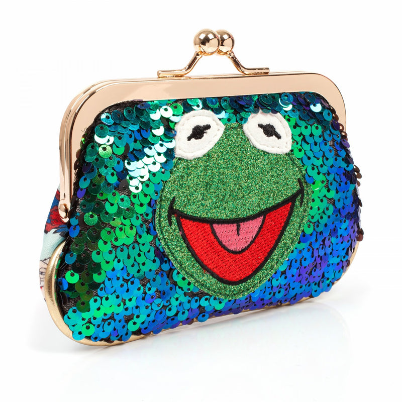 MUPPETS COLLECTION LOVE IS GREEN PURSE