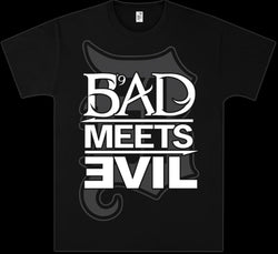 Bad Meets Evil Square Logo Men's Fit T-Shirt
