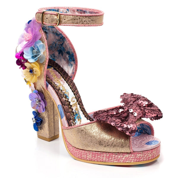 IRREGULAR CHOICE SPRING FORWARD HEELS