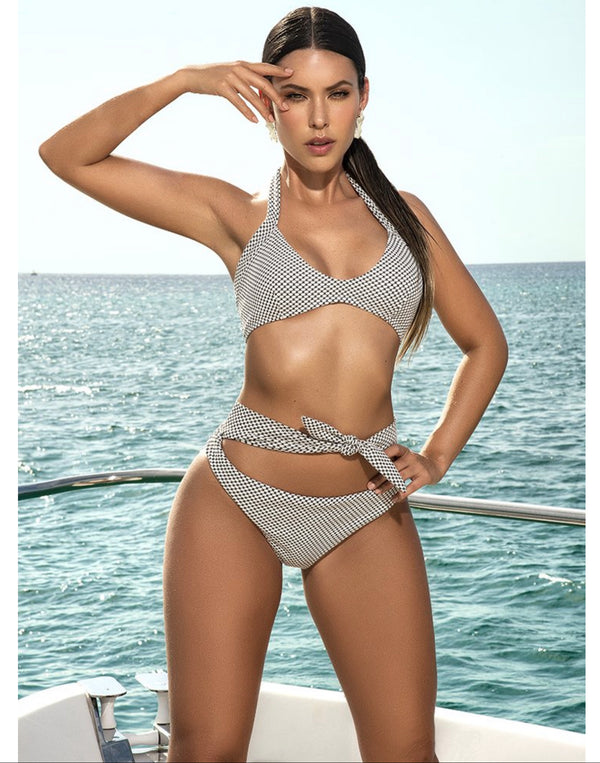 2 Piece Halter Top Swimsuit