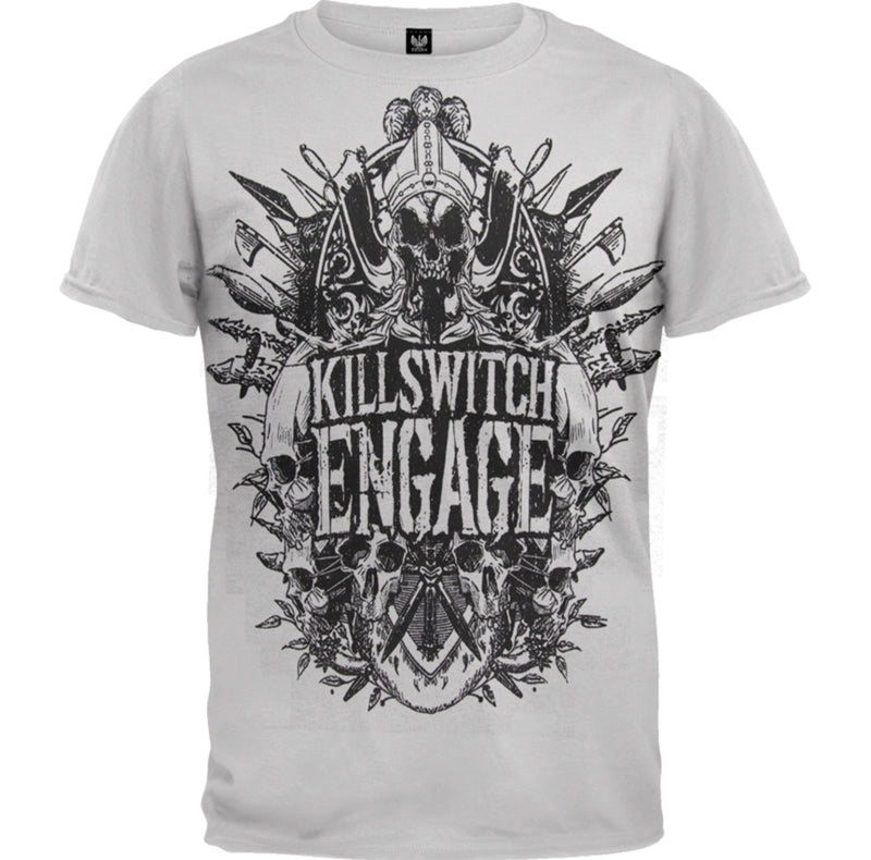 KillSwitch Engage Medieval Crest Men's Fit T-Shirt