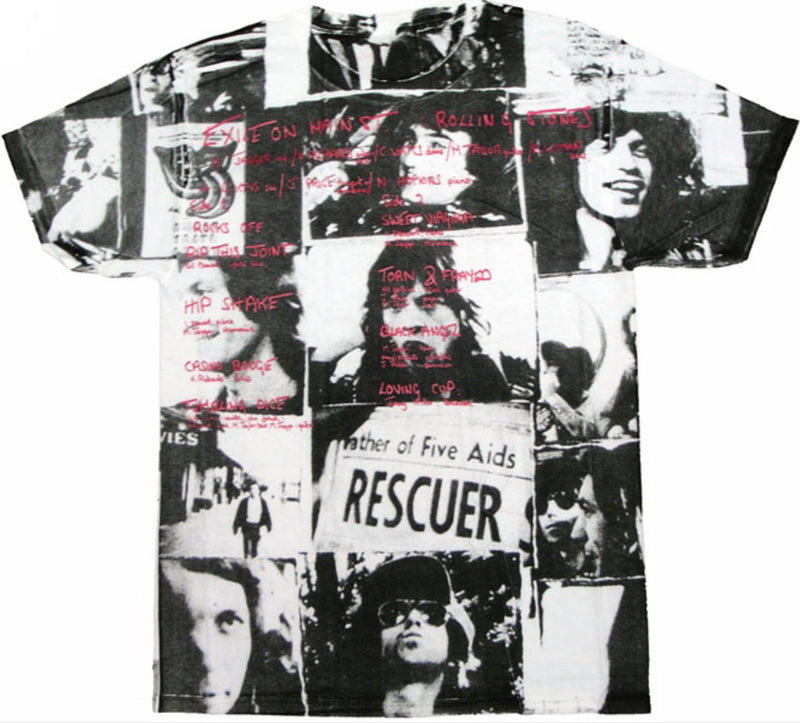 Rolling Stones Exile All Over Men's Fit T-Shirt