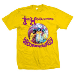 Jimi Hendrix Experience Yellow Men's Fit T-Shirt