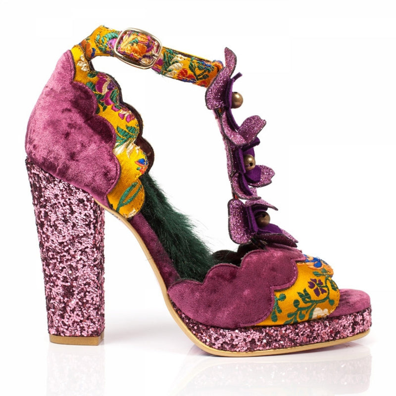 IRREGULAR CHOICE MONTEE CARLO HEELS