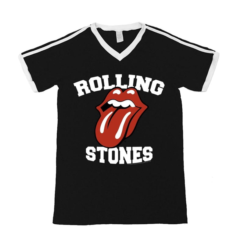 Rolling Stones Athletic Tongue Soccer T-Shirt
