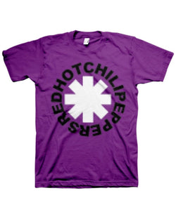 Red Hot Chili Peppers Pixel Purple Men's Fit T-Shirt