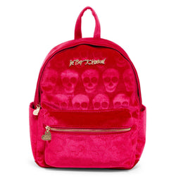 Betsey Johnson Skull Backpack