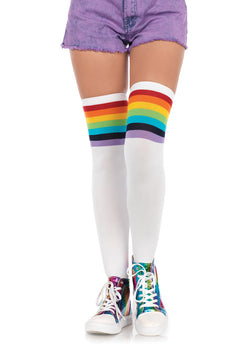 LA THIGH HIGH OVER THE RAINBOW