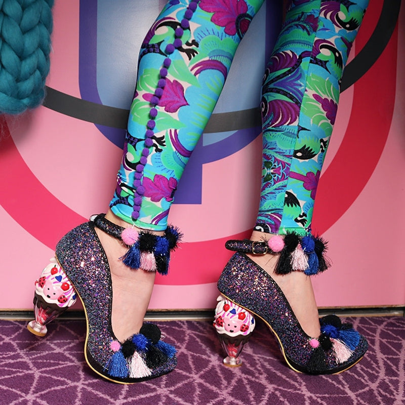 IRREGULAR CHOICE ARCTIC ROL HEELS