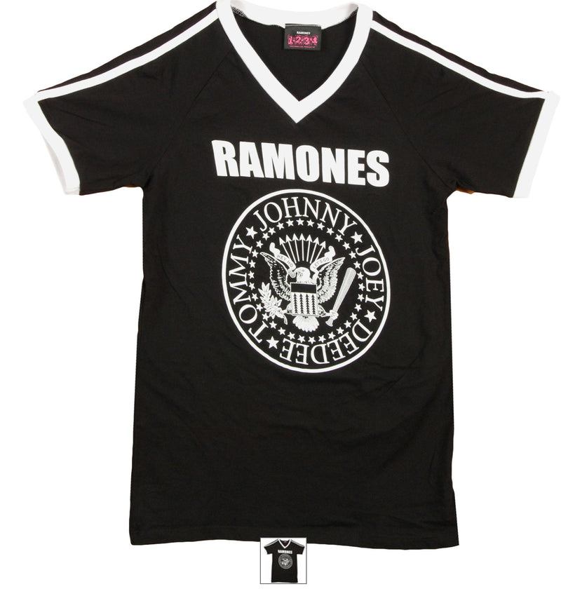 Ramones Logo Seal Soccer Junior's T-Shirt