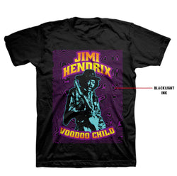Jimi Hendrix Black Light T-Shirt
