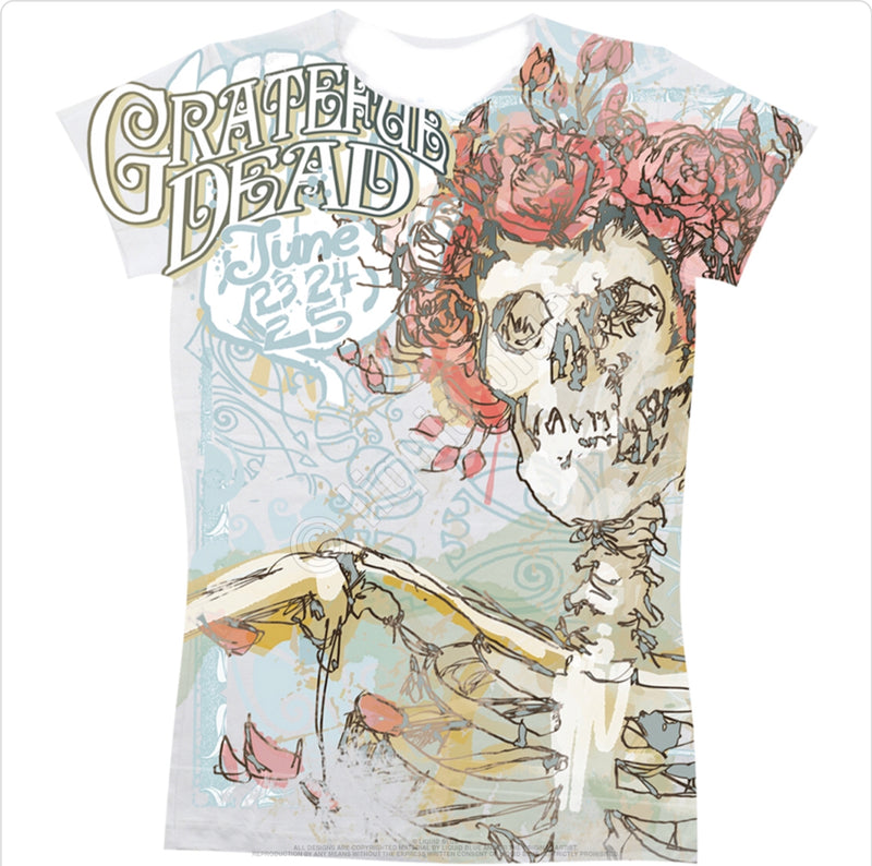 Grateful Dead Classic Bertha Juniors T-Shirt