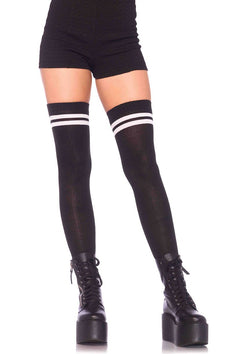ATHLETIC THIGH HIGH STRIPES TWO STRIPES