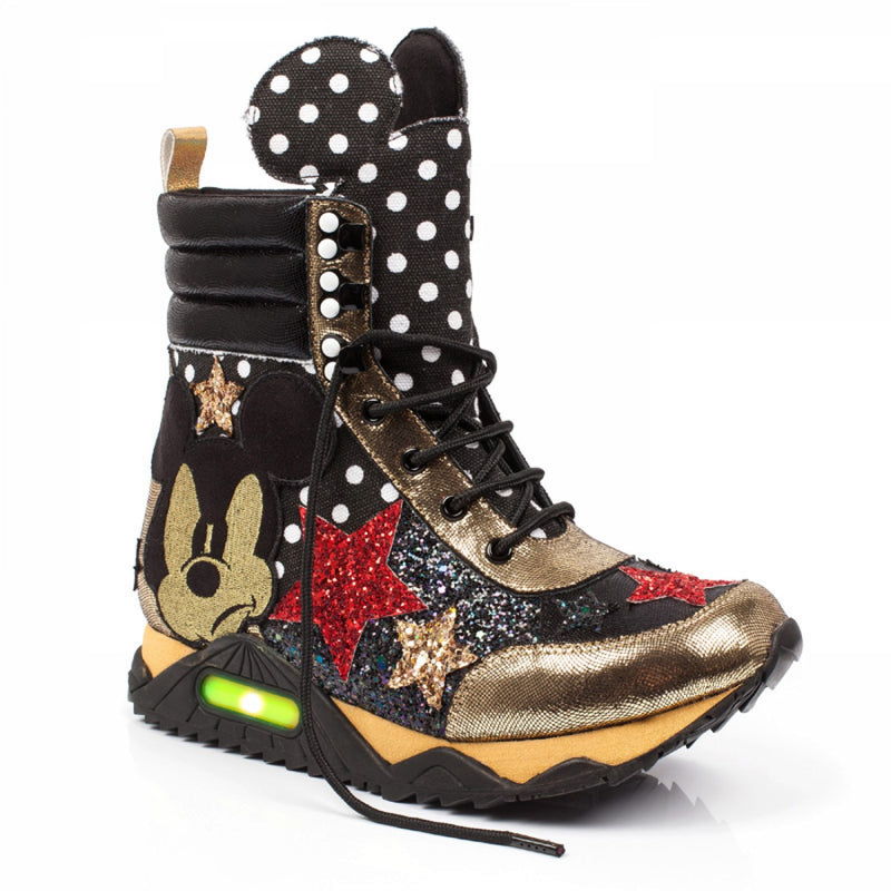 IRREGULAR CHOICE MICKEY MOUSE SNEAKERS