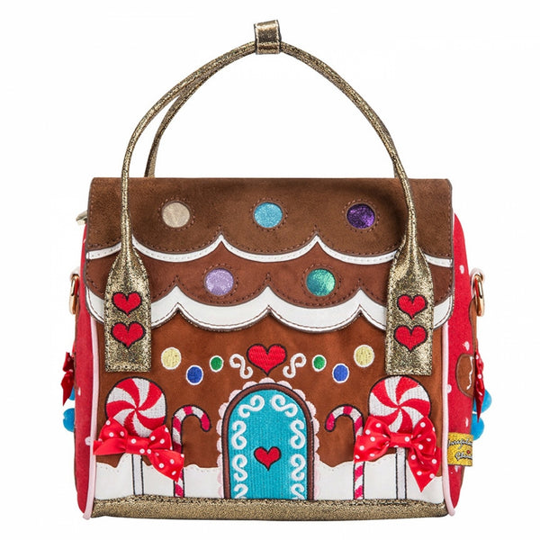 IRREGULAR CHOICE GINGER BREAD BAG