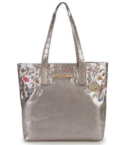 Betsey Johnson Pearly Jewels Tote