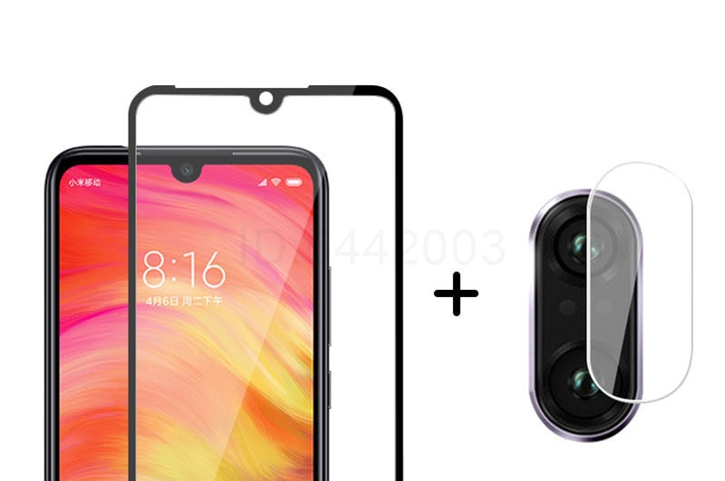 2 in 1 Camera Lens Tempered Glass - Screen Protector & Glass Film