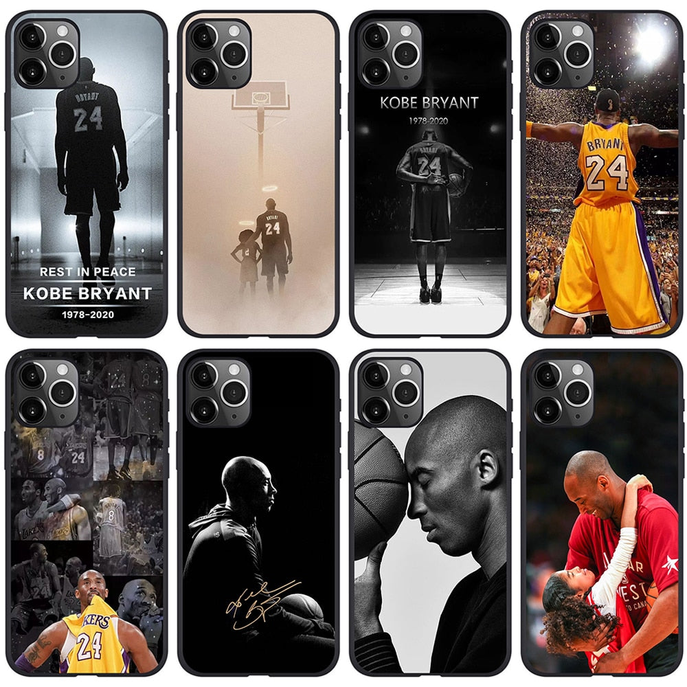 Kobe Bryant Legend Forever iPhone Case Cover For iPhone 11 Pro XS X Max Xr 8 7 6s Plus