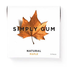 Load image into Gallery viewer, Simply Gum Maple (6 Pack) - APmunch