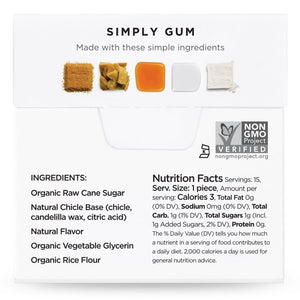 Simply Gum Maple (6 Pack) - APmunch