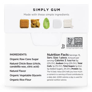 Simply Gum Peppermint (6 Pack) - APmunch
