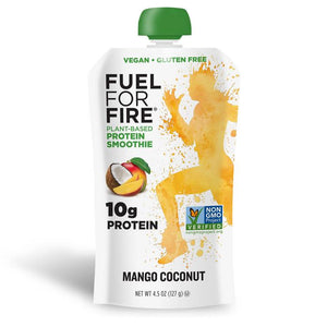 Fuel For Fire Plant-Based Mango Coconut Protein Smoothie - APmunch