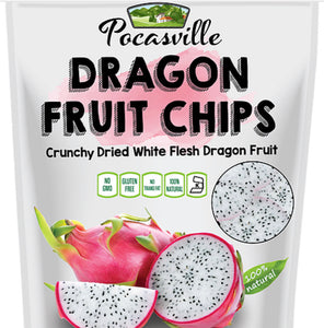 Pocas Premium Dragon Fruit Chips, 1.76 Ounce (Pack of 6) - APmunch
