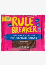 Load image into Gallery viewer, Rule Breaker Snacks Deep Chocolate Brownie