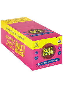Rule Breaker Snacks Deep Chocolate Brownie